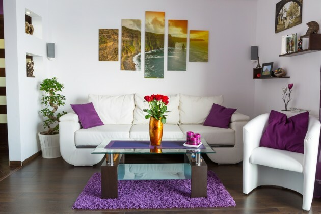 Living Room Wall Decoration Tips and Tricks - Articles about Apartments 1 by  image