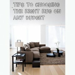 Tips to Choosing the Right Rug on Any Budget
