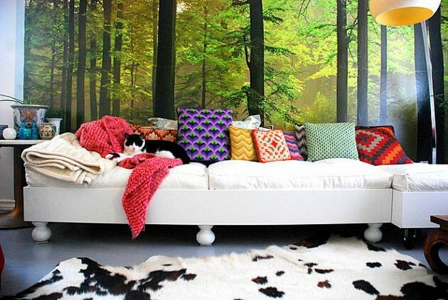 Make Your Living Room Work: A Collection of Beautiful Cushions - Articles about Apartments 1 by  image