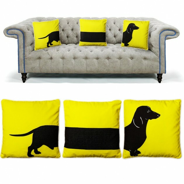 Make Your Living Room Work: A Collection of Beautiful Cushions - Articles about Apartments 17 by  image