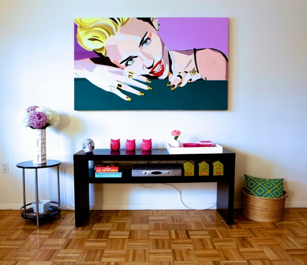 Pop Art at Home: 5 Inspirations - Articles about Apartments 9 by  image