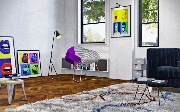 Pop Art at Home: 5 Inspirations - Articles about Apartments 11 by  image