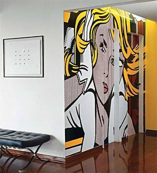 Pop Art at Home: 5 Inspirations - Articles about Apartments 14 by  image