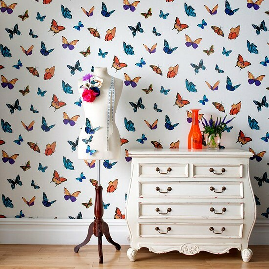 Elegant Butterflies in the Most Unexpected Trivial Places at Home - Articles about Apartments 3 by  image