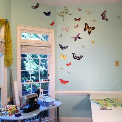 Elegant Butterflies in the Most Unexpected Trivial Places at Home - Articles about Apartments 4 by  image