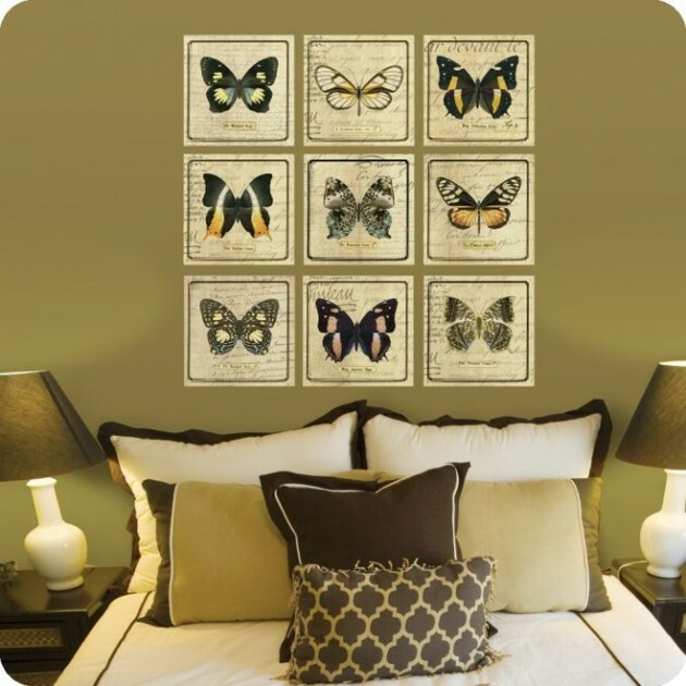 Elegant Butterflies in the Most Unexpected Trivial Places at Home - Articles about Apartments 12 by  image