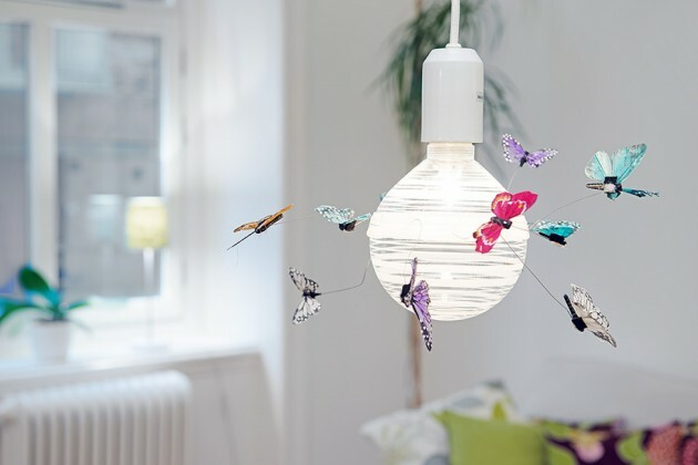 Elegant Butterflies in the Most Unexpected Trivial Places at Home - Articles about Apartments 23 by  image