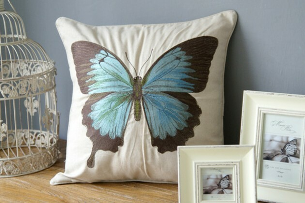 Elegant Butterflies in the Most Unexpected Trivial Places at Home - Articles about Apartments 24 by  image