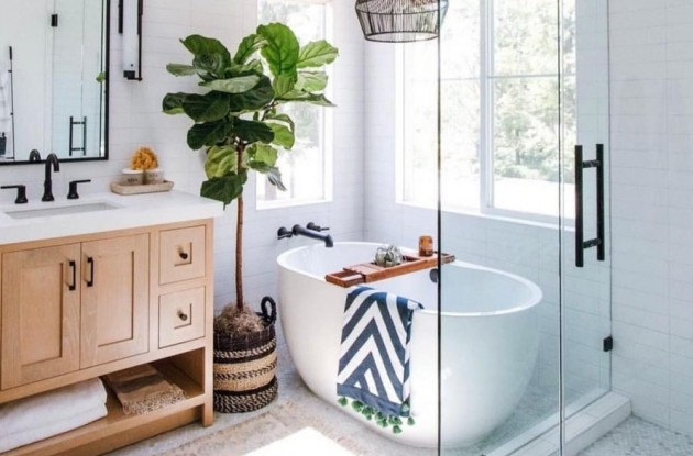 Light & Dark Colors to make your Bathroom seem bigger - Articles about Apartments 2 by  image