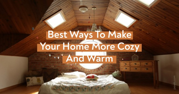 Best Ways To Make Your Home Cozy And Warm - Articles about Bedroom 1 by  image