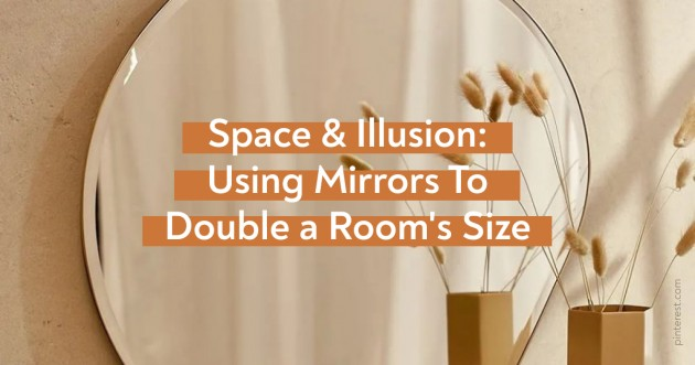 Space & Illusion: Using Mirrors To Double a Room's Size - Articles about Apartments 1 by  image