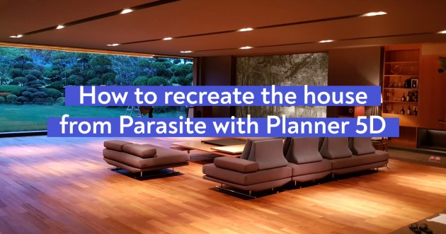 How To Recreate the Parasite House With Planner 5D - Articles about House Renovation and Remodeling 1 by  image