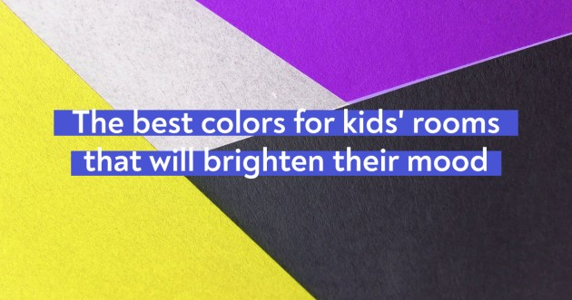The Best Colors For Kids Rooms That Will Brighten Their Mood - Articles about Beautiful Decor 1 by  image