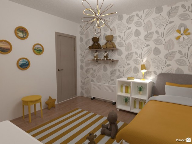 The Best Colors For Kids Rooms That Will Brighten Their Mood - Articles about Beautiful Decor 14 by  image