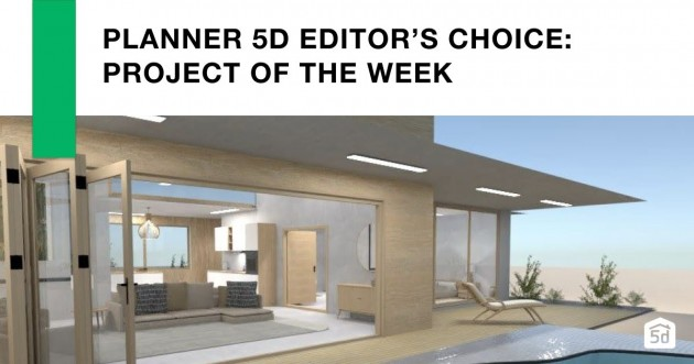 Planner 5D Editor's Choice: Project of the week