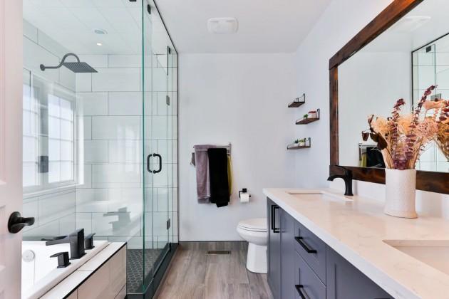 33 идеи для душевой кабины walk-in в вашей ванной комнате - Обустройство и ремонт в городской квартире 2 by  image