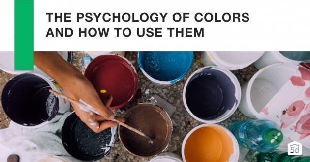 The Psychology of Colours and How to Use Them