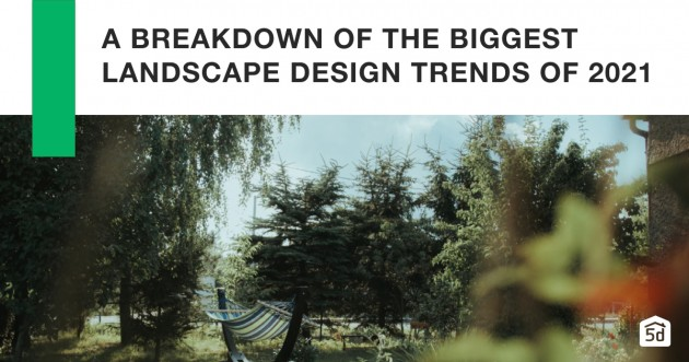 A Breakdown of the Biggest Landscape Design Trends of 2021 - Articles about Landscaping 1 by  image