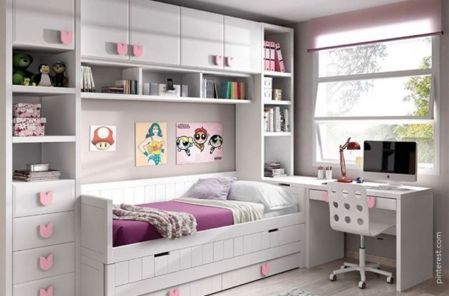Girls Bedroom Ideas – Room Décor to Make you Jealous - Articles about Apartments 9 by  image