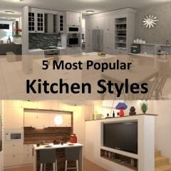 5 Most Popular Kitchen Styles