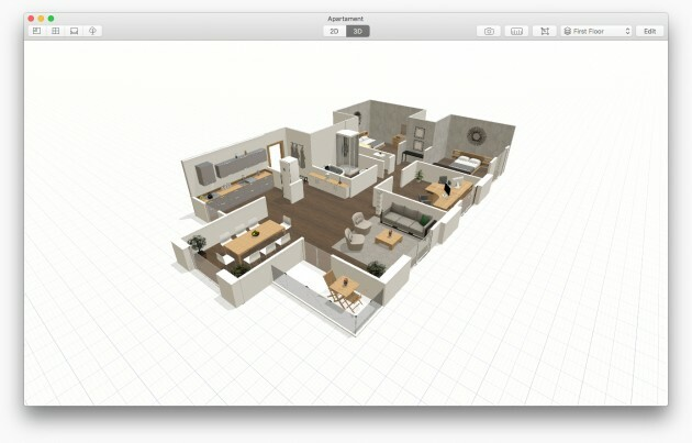 Planner 5D App Now Available on Mac! - Articles about Apartments 2 by  image