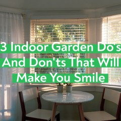 Rules For an Indoor Garden That Will Make You Smile