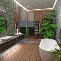 照片 独栋别墅 家具 装饰 浴室 创意