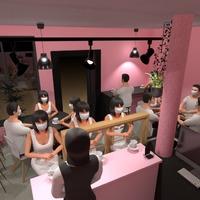 zdjęcia pokój dzienny kawiarnia architektura pomysły