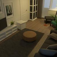 nuotraukos butas dekoras svetainė renovacija idėjos