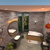 fotos casa cuarto de baño iluminación paisaje arquitectura ideas