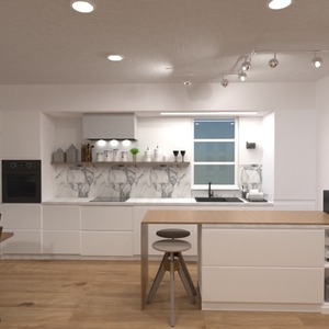 foto decorazioni angolo fai-da-te cucina idee