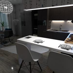 foto decorazioni cucina illuminazione idee