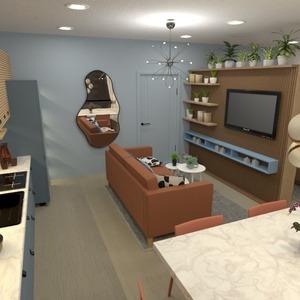 照片 家具 装饰 厨房 照明 单间公寓 创意