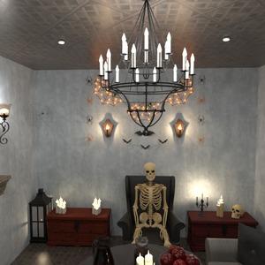 идеи декор гостиная освещение идеи