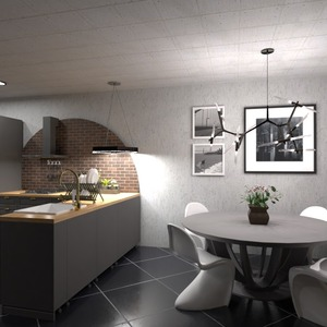 照片 厨房 照明 创意