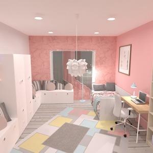 zdjęcia wystrój wnętrz pokój diecięcy oświetlenie pomysły