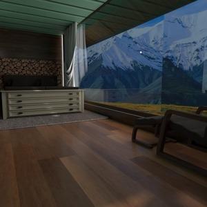 foto casa arredamento camera da letto illuminazione paesaggio idee