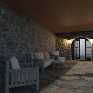 foto casa arredamento oggetti esterni illuminazione vano scale idee