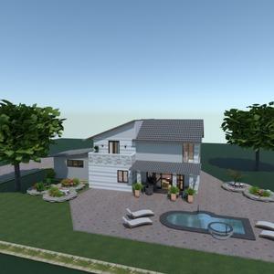 照片 独栋别墅 户外 改造 景观 创意