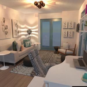 photos appartement décoration chambre à coucher bureau studio idées
