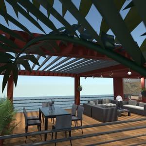 照片 独栋别墅 露台 家具 户外 景观 创意