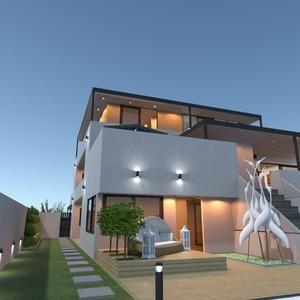 photos décoration extérieur eclairage architecture idées