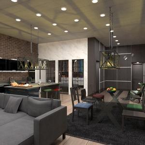 fotos apartamento mobílias quarto cozinha sala de jantar ideias