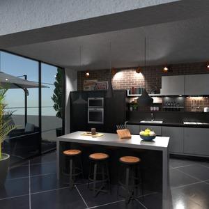 fotos wohnung terrasse mobiliar küche ideen