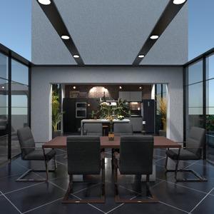 fotos wohnung terrasse küche outdoor esszimmer ideen