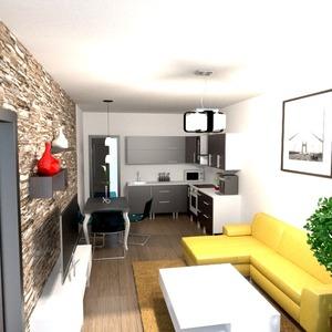 zdjęcia mieszkanie pokój dzienny kuchnia jadalnia pomysły