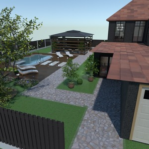 photos house terrace furniture decor garage ideas