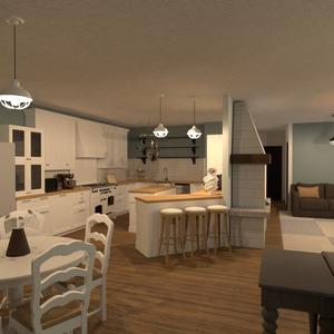 photos maison cuisine eclairage rénovation maison idées