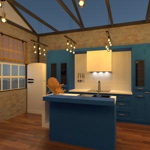 foto arredamento saggiorno cucina illuminazione monolocale idee