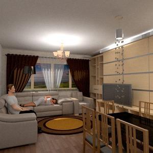 foto appartamento saggiorno illuminazione sala pranzo idee